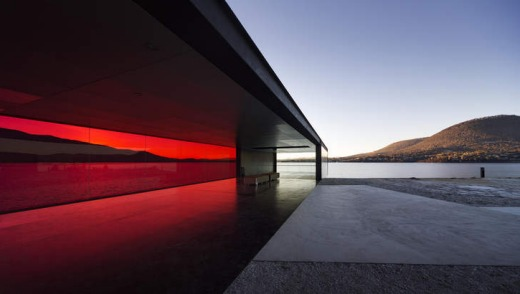 Clean lines: the Glenorchy Art and Sculpture Park in Tasmania.