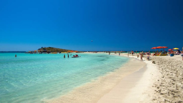 Beach resorts such as Ayia Napa specialise in carefree escapism.