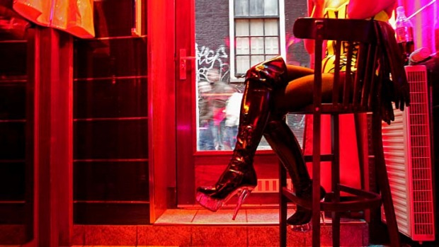 Amsterdam's well-monitored red-light district is one of the safest places for both customers and sex workers in the city.