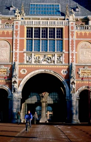In Amsterdam you can cycle through the famous Rijksmuseum (and on the streets) without wearing a helmet.