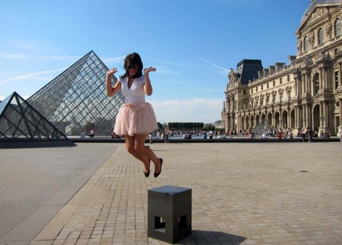 "The jumping photo. Nothing says ""I'm having a great time"" like a jumping photo. Unfortunately, nothing says ""I'm trying ..."