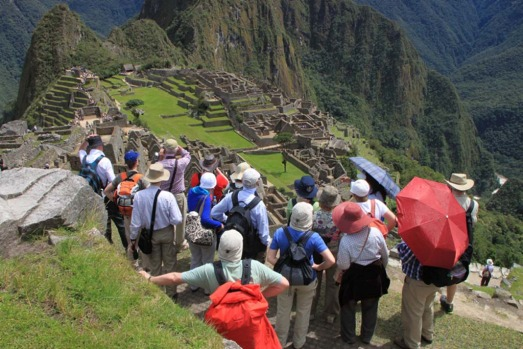 'That spot' at Machu Picchu. You'll know that spot from the crowd of people standing up there.