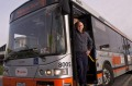 Bus Driver Eril Mitchell who drives the 901 bus which is Melbournes longest running from Frankston to Ringwood to the ...
