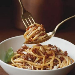 Taste of Italy: The classic spaghetti bolognese.