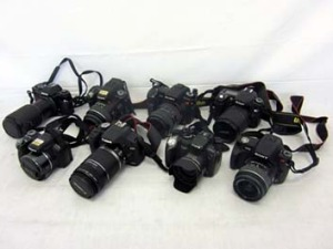 Cameras are among the items available in Sydney Airport's lost property auction.