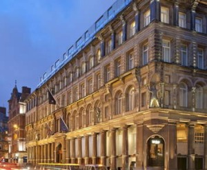 Prestige:The 128-year-old hotel building.