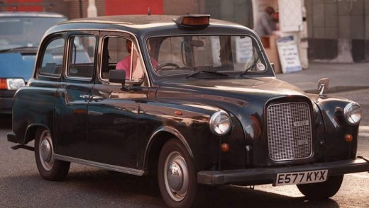 Best in the world ... a London Black Cab.
