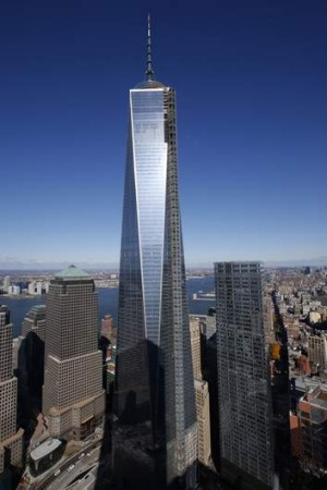 The One World Trade Centre in New York. The Council on Tall Buildings and Urban Habitat has announced it will be the ...