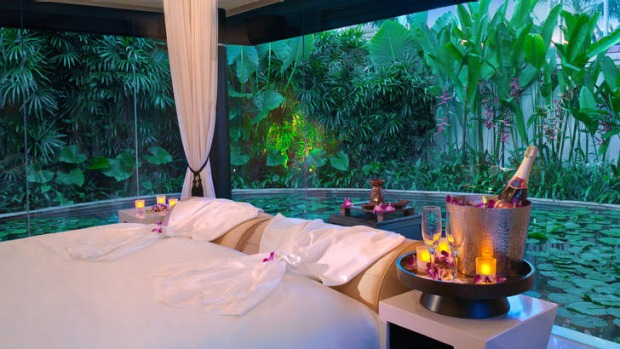The Banyan Tree spa sanctuary.