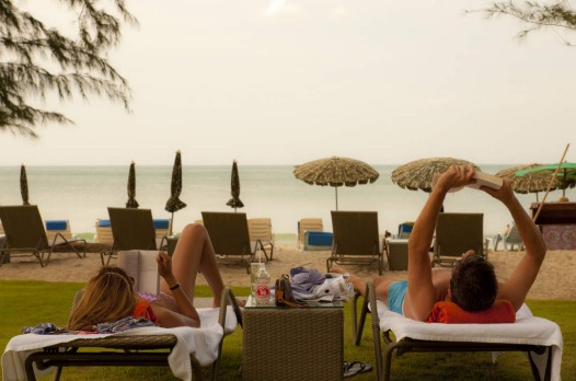 Happy children, happy parents - so the equation goes at Bliss Beach Club, a family-friendly venue on palm-fringed Bang ...