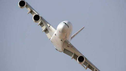 The Airbus A380 is the world's largest airliner.