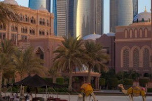 The Emirates Palace Hotel.