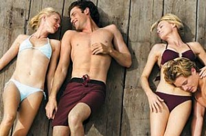 Lil (Naomi Watts), Tom (James Frecheville), Roz (Robin Wright) and Ian (Xavier Samuel) in a scene from Anne Fontaine's ...