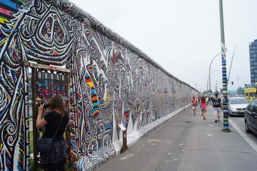 The East Side Gallery, the largest remaining part of the Berlin Wall, is famous for its murals but even this iconic site ...