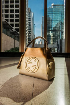 Gucci at Landmark Hong Kong.