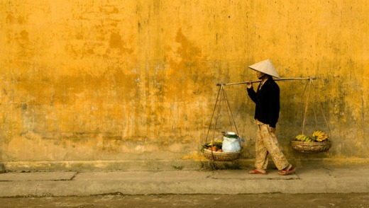 In balance: the art of everyday life in Hoi An.