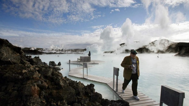 New frontiers: Iceland's Blue Lagoon.