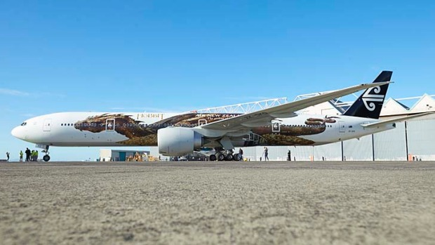 Ahead of the premiere of the second part of the Hobbit trilogy, The Desolation of Smaug, Air New Zealand unveiled a ...