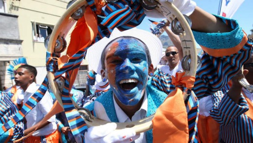 Cape Town Minstrel Carnival, every January 2.