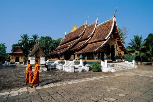 Luang Prabang, Laos. Tour temples, eat from street stalls, or drink at French wine bars ? or do them all.