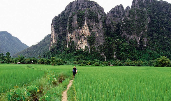 Go rural in Vang Vieng, Laos. Forget the tubing of old ? the best thing to do is rent a scooter and explore this ...