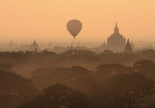 Balloons over Bagan, Myanmar. A dawn flight over the hundreds of temples that dot this Myanmar masterpiece should be on ...