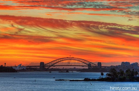 4. Now this is a sunset. Amazing capture by Hirsty Photography, well done mate, March 11, 2013. 121,983 likes.