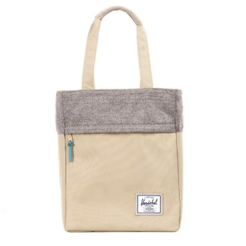 Harvest tote by Herschel, khaki, $119, flight001.com.au.