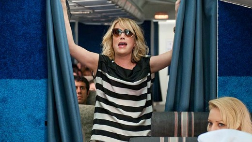 Unruly passengers, much like Kirsten Wiig's character in Bridesmaids, have been responsible for forcing flights to make unscheduled landings.