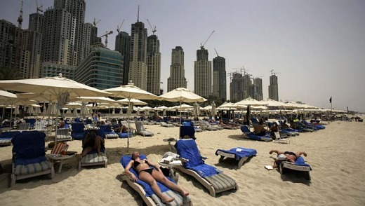 Dubai ... in summer it's just too damn hot.