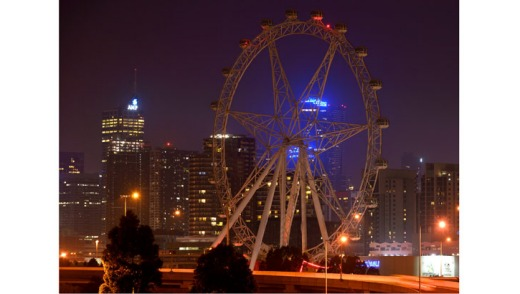 Not quite a diamond in the sky, the re-spun Southern Star is set to weave through Melbourne's evening ether.