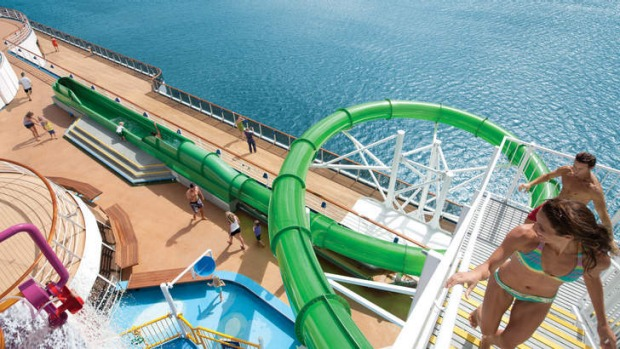 Take The Plunge Go For An Adrenalin Rush Onboard Carnival Spirit