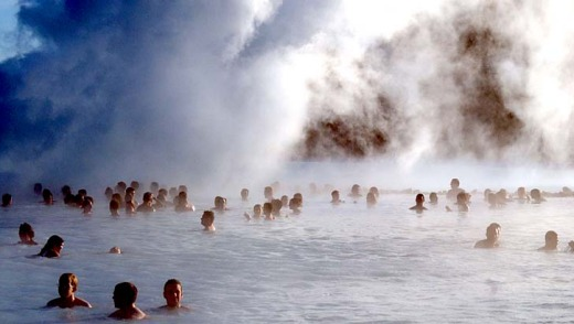 Cold country, warm reception ... Iceland has been rated the world's most welcoming country for visitors.