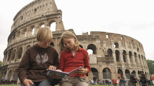Travel can be an educational experience for children.