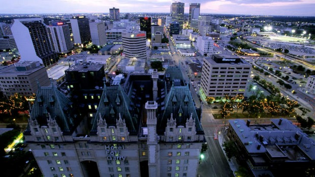 Winnipeg's architecture wouldn't seem out of place in London, New York or Paris.