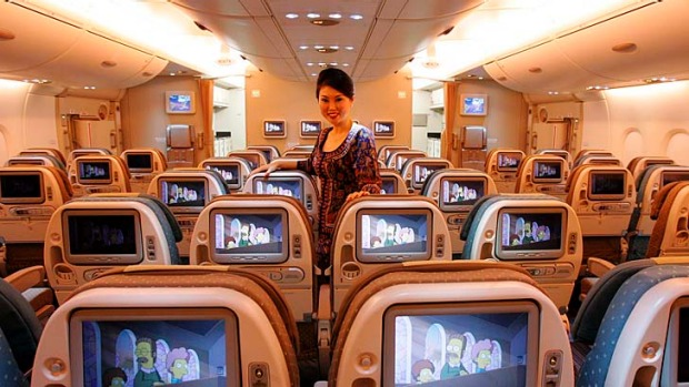 Singapore Airlines' reputation for good service is well-deserved.