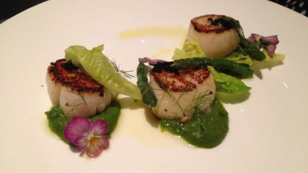 Signature scallops: Hilton Brisbane is on the doorstep of the Queen Street Mall.