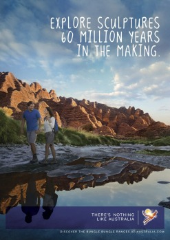 Tourism Australia's current campaign 'There's nothing like Australia' launched in 2010.