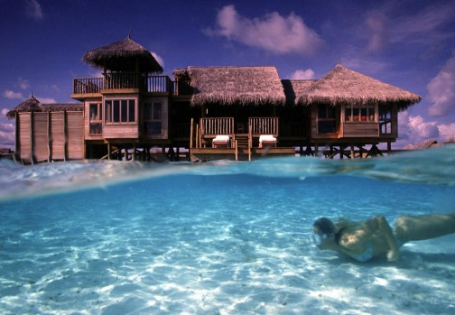 No. 3. Gili Lankanfushi in the Maldives.