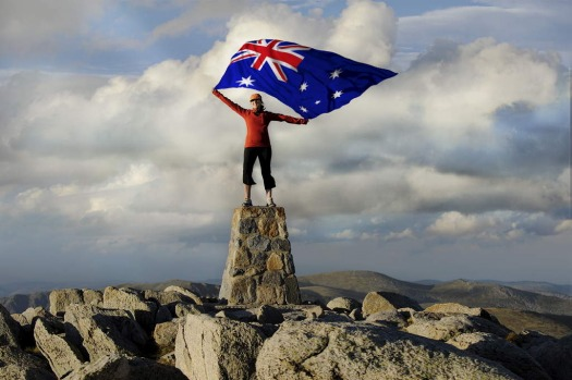 Why not climb Mt Kosciuszko this Australia Day?