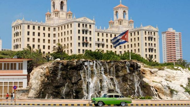 Characterful: Many famous names have stayed at the Hotel Nacional de Cuba in Havana.