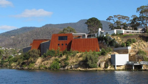 Weird but wonderful: The Museum of Old and New Art may be Tasmania's most treasured possession.