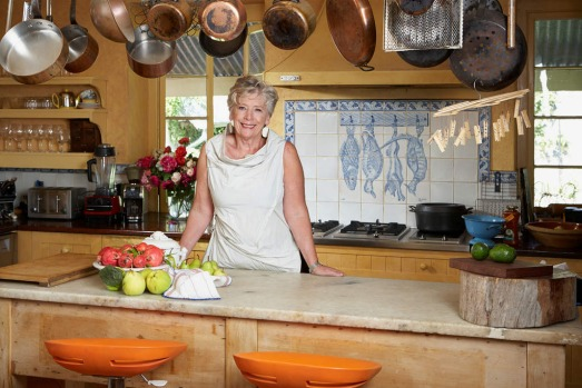 Maggie Beer is at home in the Barossa.