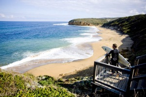 Bells Beach in Torquay, VIC.