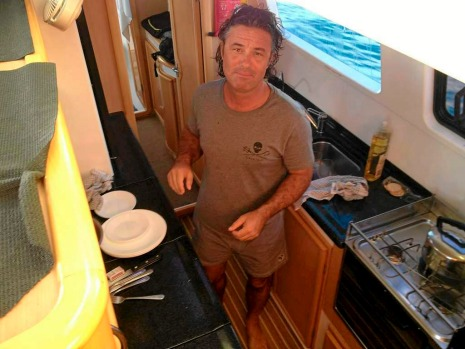 Hiring a yacht is one way to see a different island every day. Meet Captain Christophe Vanek.