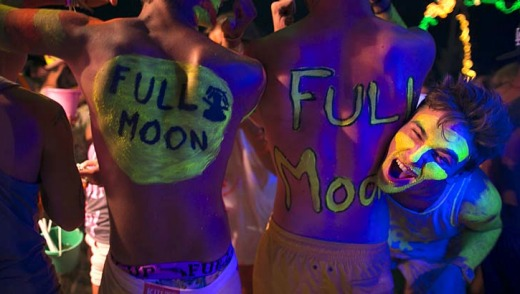Thailand's full moon parties have developed reputations for irresponsible behaviour.