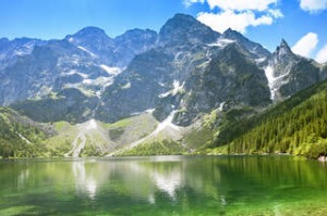 'Morskie Oko' Lake in Tatra Mountains