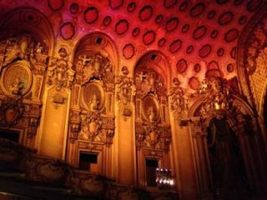 Statement of confidence: The old cinemas in downtown Los Angeles spoke of optimism and glamour.