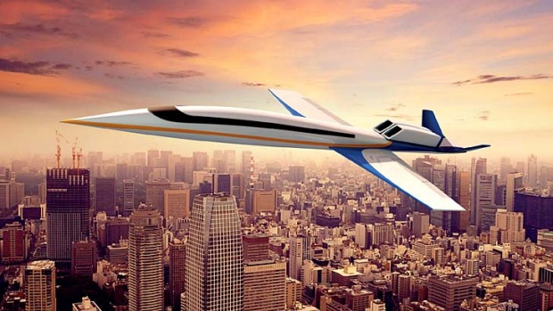 Spike Aerospace's Spike S-512 design is for a 12-18 seater supersonic private jet designed for commercial use and ...