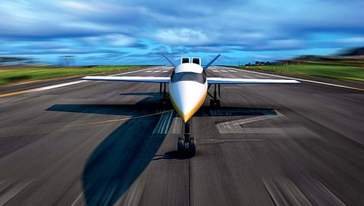 The estimated cost of the Spike S-512 is $US80 million ($A91 million) per private jet. The developers believe the ...